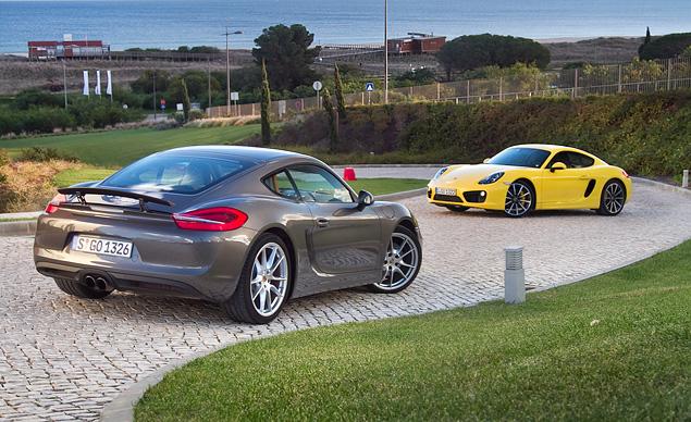 Тест-драйв маленького, но очень злого купе Porsche Cayman. Фото 10