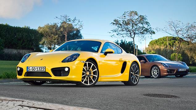 Тест-драйв маленького, но очень злого купе Porsche Cayman. Фото 11