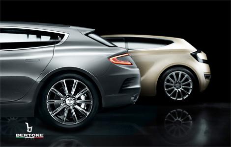 Итальянцы привезут в Женеву четырехместный Aston Martin Vanquish. Фото 1