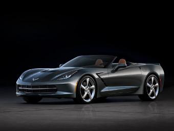 Chevrolet показал новый Corvette без крыши