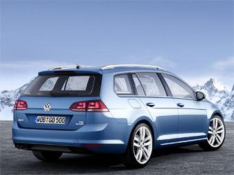 Volkswagen Golf нового поколения стал универсалом