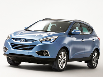 Hyundai обновил внешность и моторы ix35