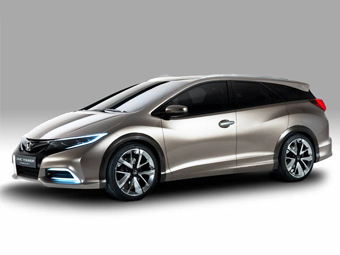 """Хонда"" подготовила прототип ""грузовой"" версии Civic"