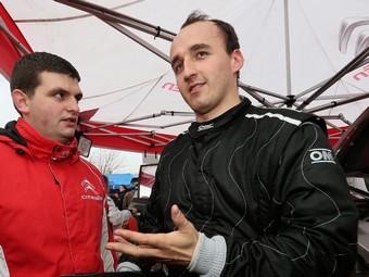 Роберт Кубица перешел в чемпионат мира по ралли