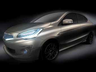 Mitsubishi создаст конкурента Hyundai Solaris