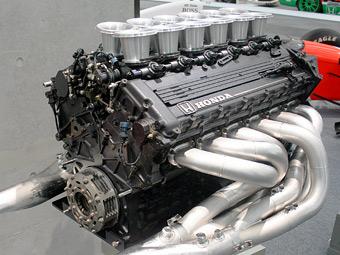 Honda тайно построила двигатель для Формулы-1