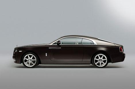 В Женеве дебютировало 633-сильное купе Wraith