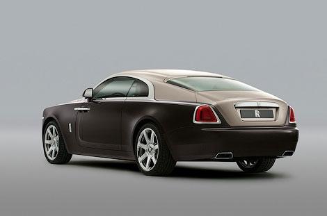 В Женеве дебютировало 633-сильное купе Wraith. Фото 1