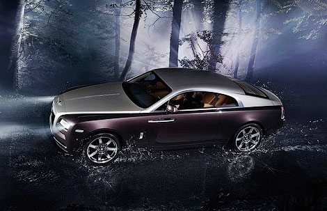 В Женеве дебютировало 633-сильное купе Wraith. Фото 2