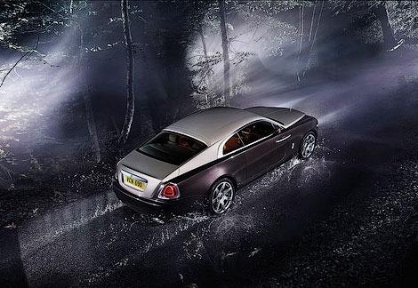 В Женеве дебютировало 633-сильное купе Wraith. Фото 3