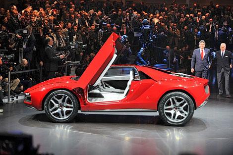 На моторшоу в Женеве дебютировал 550-сильный концепт-кар Parcour