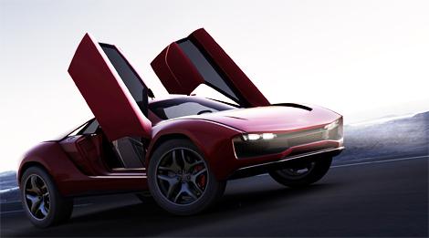 На моторшоу в Женеве дебютировал 550-сильный концепт-кар Parcour. Фото 4