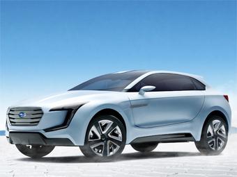 Компания Subaru показала дизайн будущих моделей