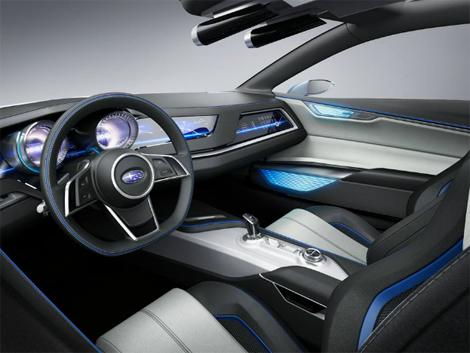 Женевский концепт Viziv стал предвестником всех новых Subaru. Фото 2
