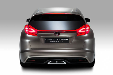 Компания сообщила подробности о прототипе универсала Civic