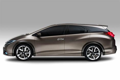 Компания сообщила подробности о прототипе универсала Civic. Фото 1