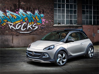 "Opel официально представил ""вседорожный"" сити-кар"