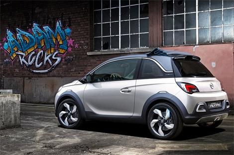 Трехдверный хэтчбек Opel Adam Rocks получил увеличенный дорожный просвет