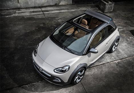 Трехдверный хэтчбек Opel Adam Rocks получил увеличенный дорожный просвет. Фото 2