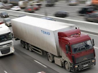 Собянин предложил штрафовать грузовики на МКАДе на 5 тысяч рублей
