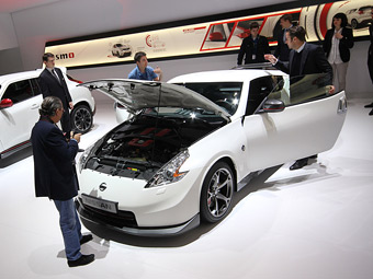 В ателье Nismo добавили купе 370Z мощности