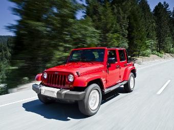 """Jeep выпустит пикап на базе """"Рэнглера"""""""