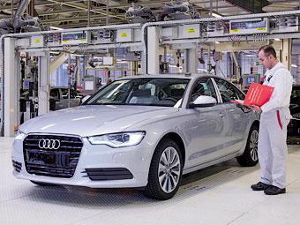 Выпуск Audi в Калуге начнется через два месяца