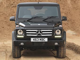 Mercedes-Benz выпустит мини-Gelandewagen