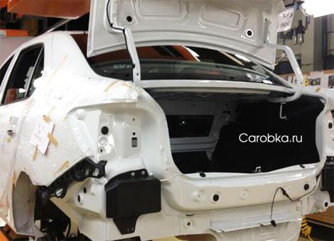 На предприятии началось тестовое производство седана нового поколения. Фото 1