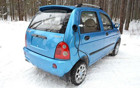 """Фирма """"Дамер"""" сделала электромобиль в два раза быстрее и дальнобойнее. Фото 2"""