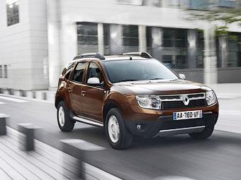 Российские продажи Renault Duster выросли в 260 раз