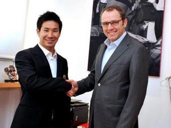 Камуи Кобаяси стал пилотом Ferrari
