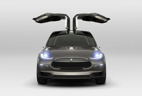 Выпуск электрического вседорожника Model X начнется в 2014 году