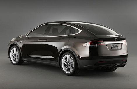 Выпуск электрического вседорожника Model X начнется в 2014 году. Фото 1