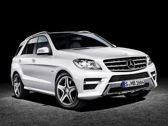 Mercedes-Benz защитил M-Class от пуль и гранат