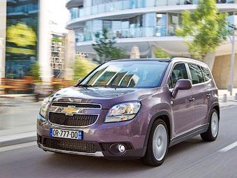 В России минивэн Chevrolet Orlando обзавелся дизелем
