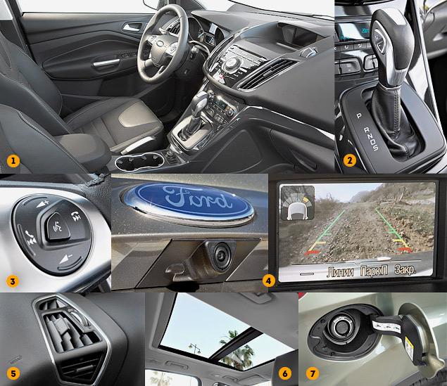 Тест-драйв высокотехнологичного кроссовера Ford Kuga. Фото 2