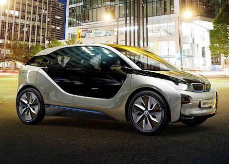 Покупатели модели i3 смогут бесплатно ездить на бензиновых BMW. Фото 1