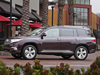 Toyota Highlander сменит поколение к концу месяца