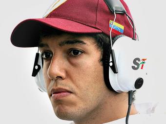 Команда Marussia нашла запасного пилота в Венесуэле