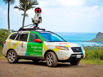 Google признал автомобили для фотосъемок панорам шпионами