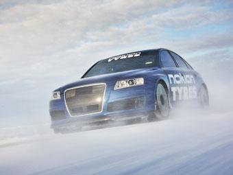 Шинники из Nokian установили мировой рекорд скорости на льду