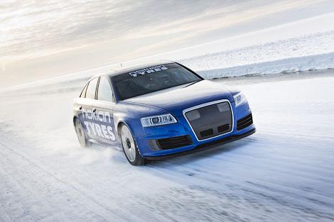 Audi RS6 на шинах Hakkapelitta разогнался до 335,7 километра в час. Фото 2