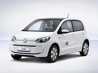 Volkswagen представил первый серийный электрокар