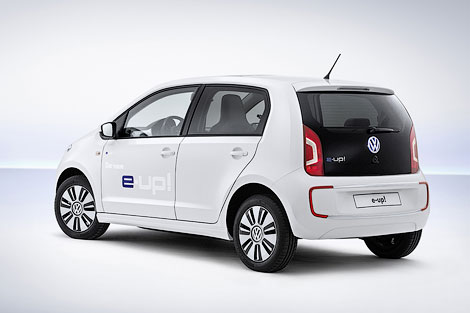 Электрический VW up! проедет без подзарядки 150 километров