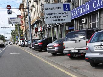 """За ездой по """"выделенкам"""" в Москве будут следить из автобусов"""
