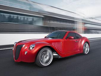 Бельгийцы разработали гибридный спорткар