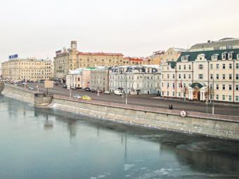 В Москве на лето закроют для машин три набережные