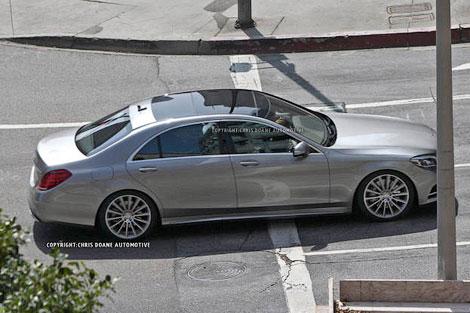 Появились шпионские фотографии S-Class шестого поколения. Фото 2