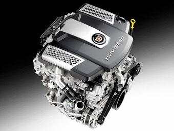 Cadillac CTS оснастят твин-турбо мотором V6